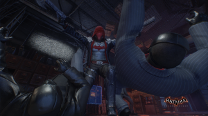 Redhood Double Clothesline